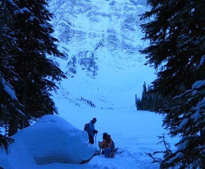 Rawson Lake – Snowshoe