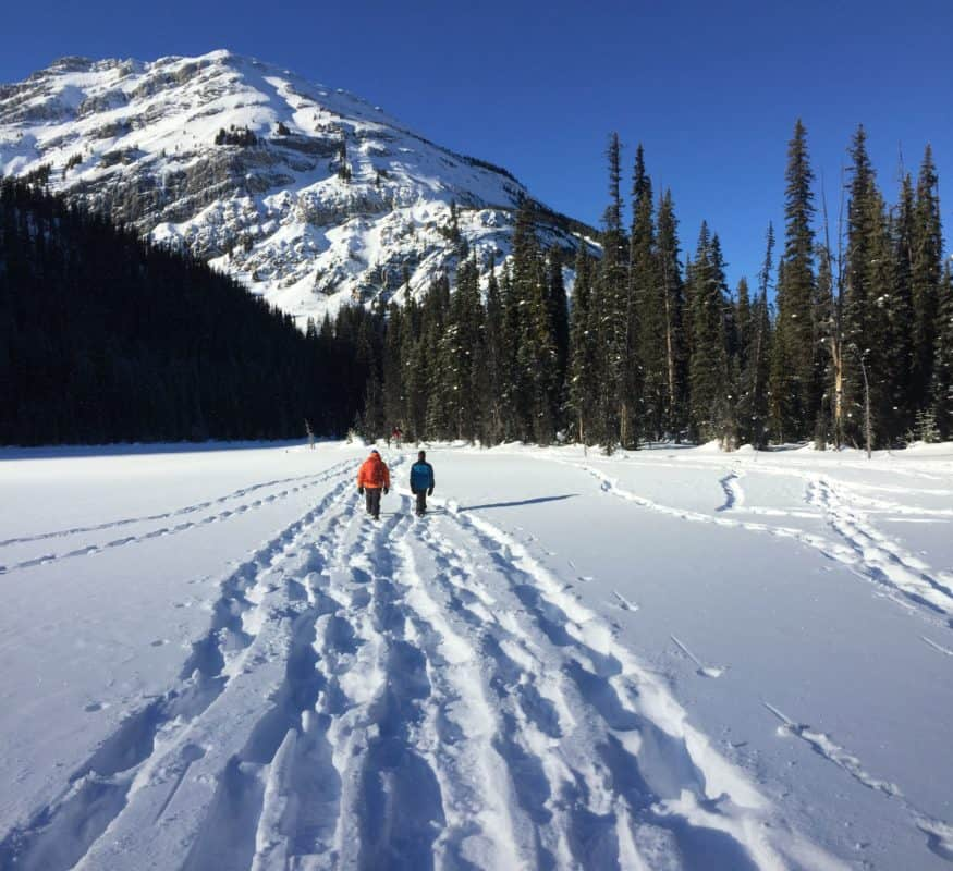 Hogarth Lakes Snowshoe