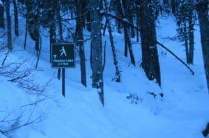 Rawson Lake Snowshoe