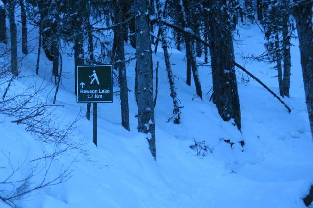 Rawson Lake Snowshoe, Three Mountain Family Hikes, Take A Hike With Your Children