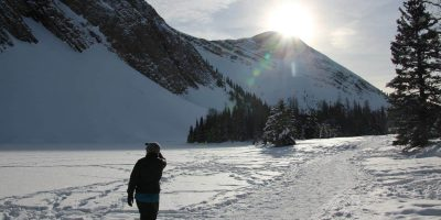 Chester Lake Snowshoe Guide & Trail Description