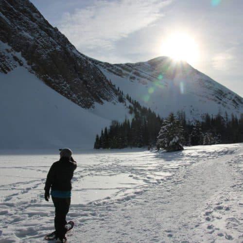 Chester Lake Snowshoe