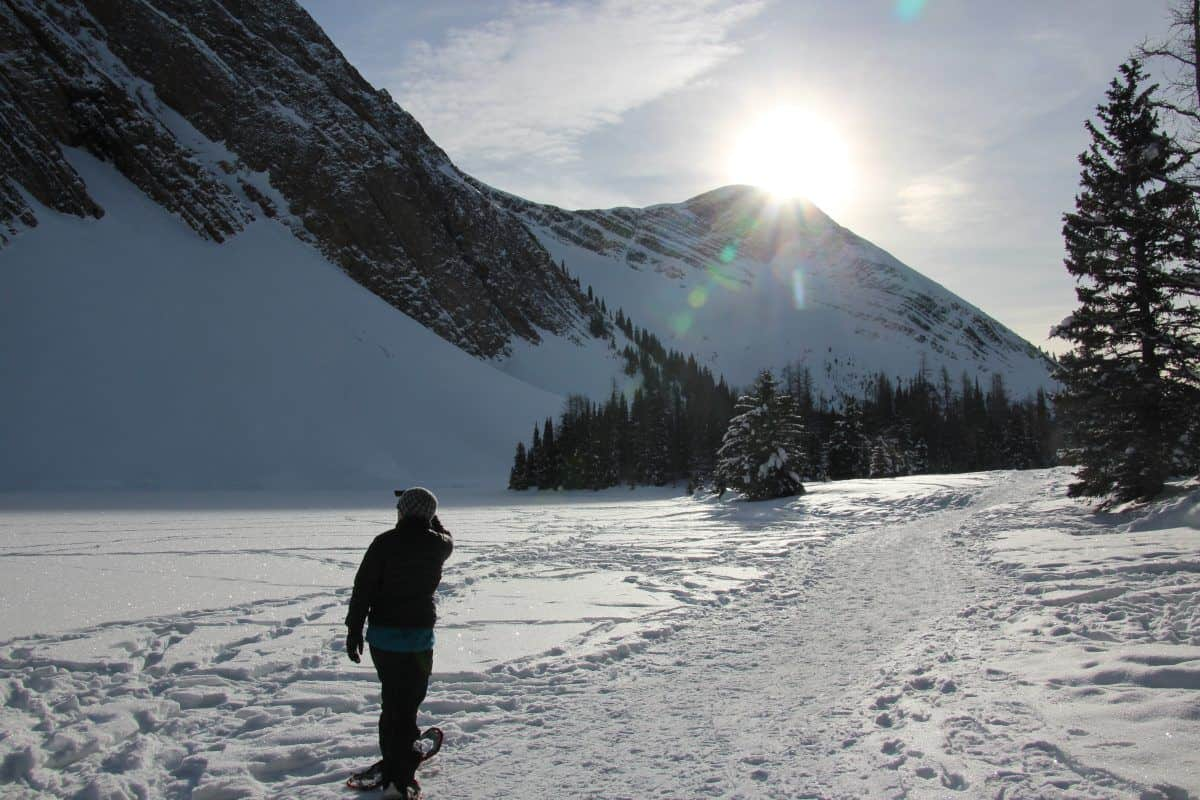 Chester Lake Snowshoe