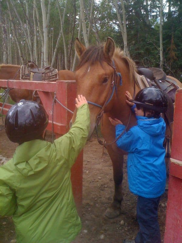 take a hike with your children,three mountain family hikes,families closer to nature,Jasper Riding Stables,jasper national park