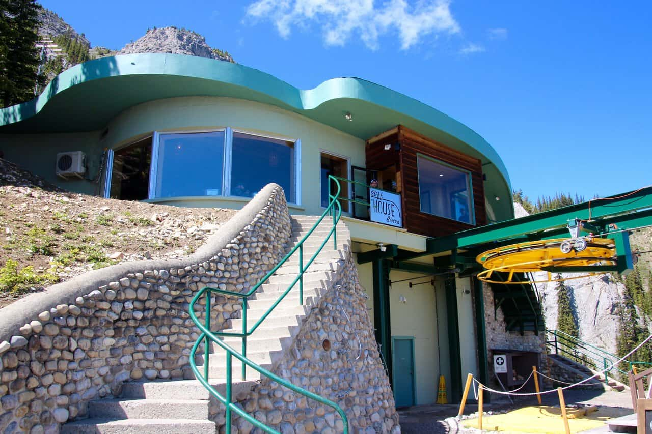 The Cliff House Bistro, Mt .Norquay