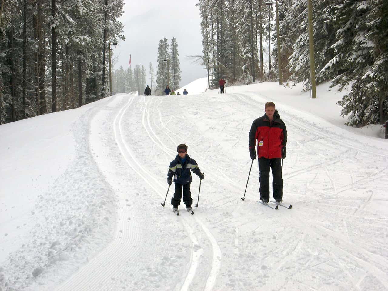 March-2009,-Morgan-cross-country-skiing-for-the-first-time