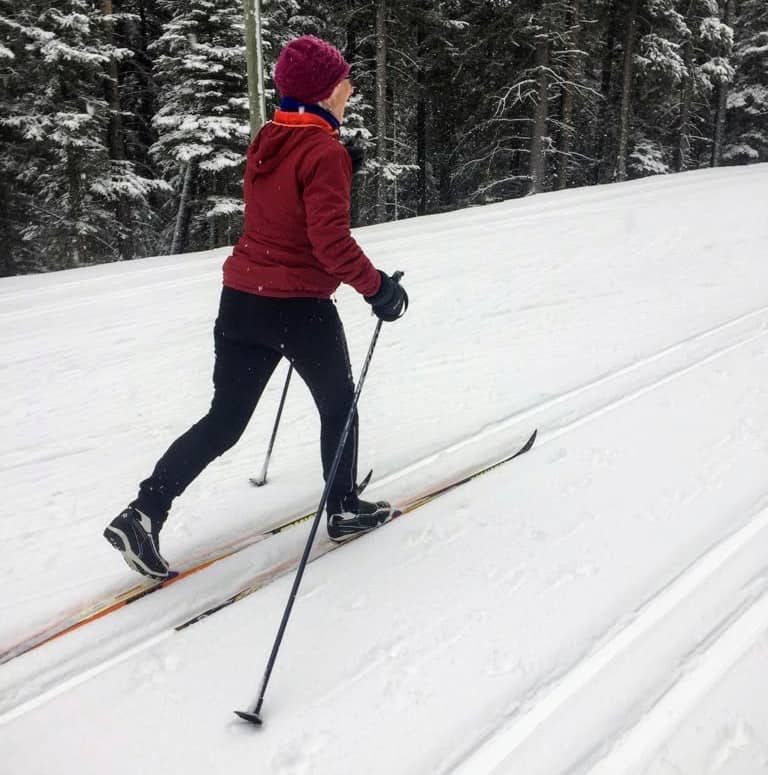 semi-private cross country skiiing lesson