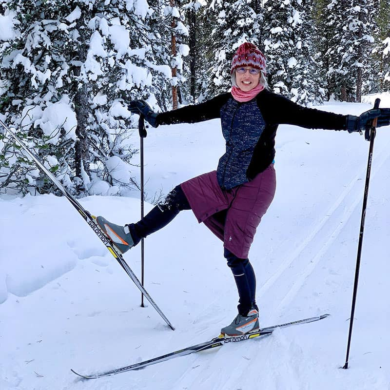 cross country skiing lessons with lynda three mountain family hikes